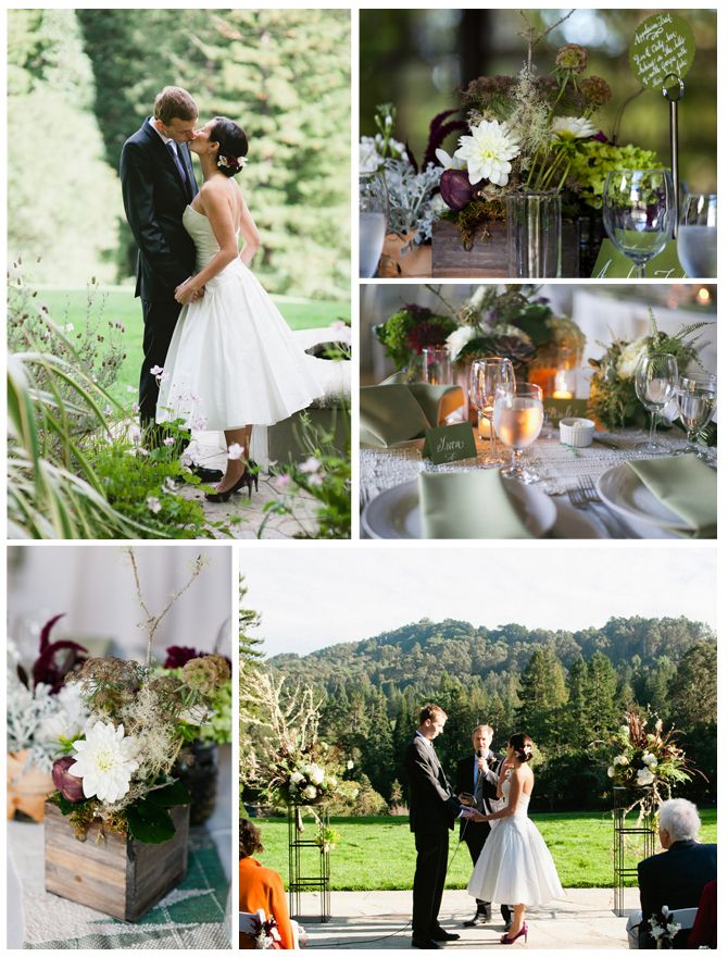 Brazilian Room Provides A Beautiful Nature Backdrop To Your Berkeley Wedding Located In Tilden Park Shot By Cara Mia Photography