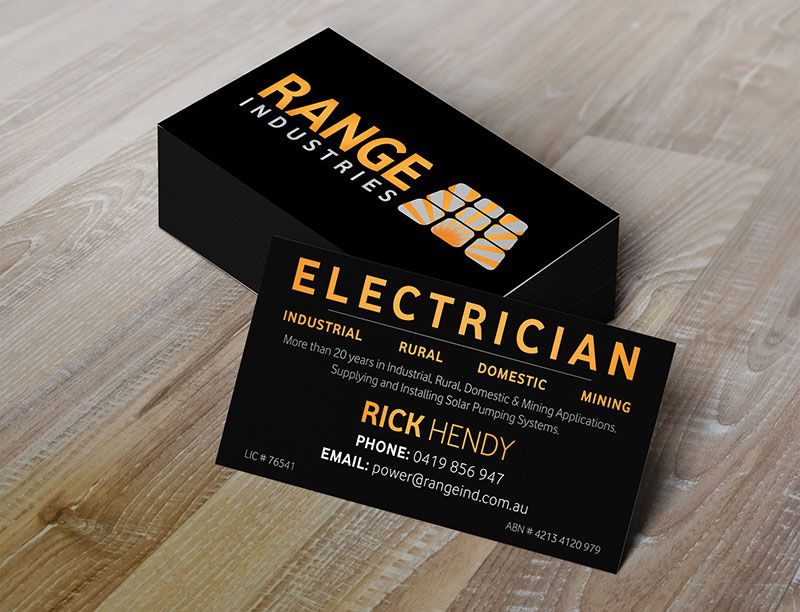 Image Result For Electrical Business Cards Australia Cards Electricity Business Cards