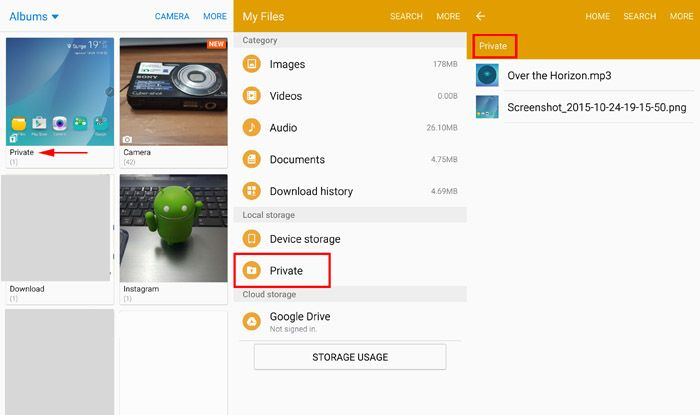 Samsung Galaxy Note 5 Settings: How to locate File Manager
