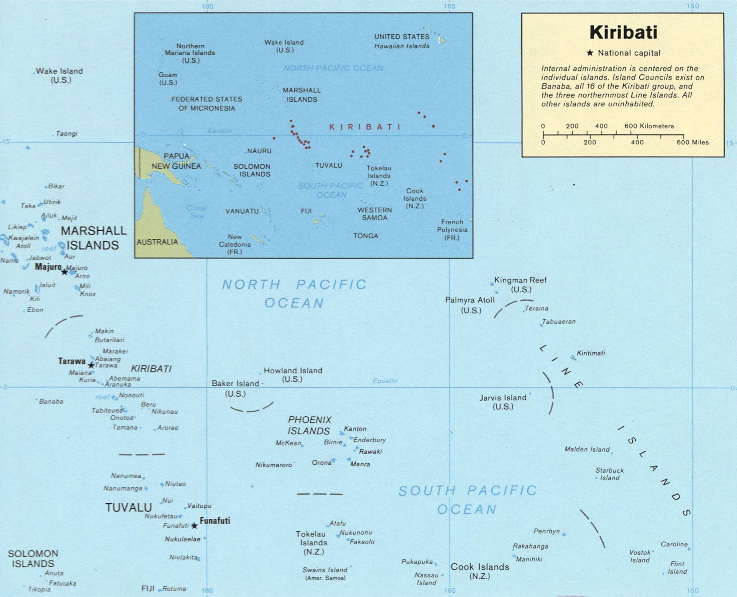 Kiribati Map Kiribati Pinterest Kiribati map and Destinations