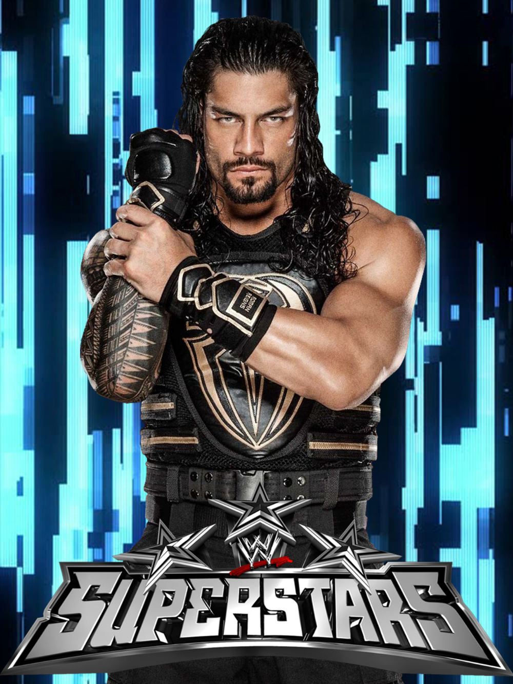 WWE SUPERSTAR ROMAN REIGNS POSTER - CULTURE POSTERS