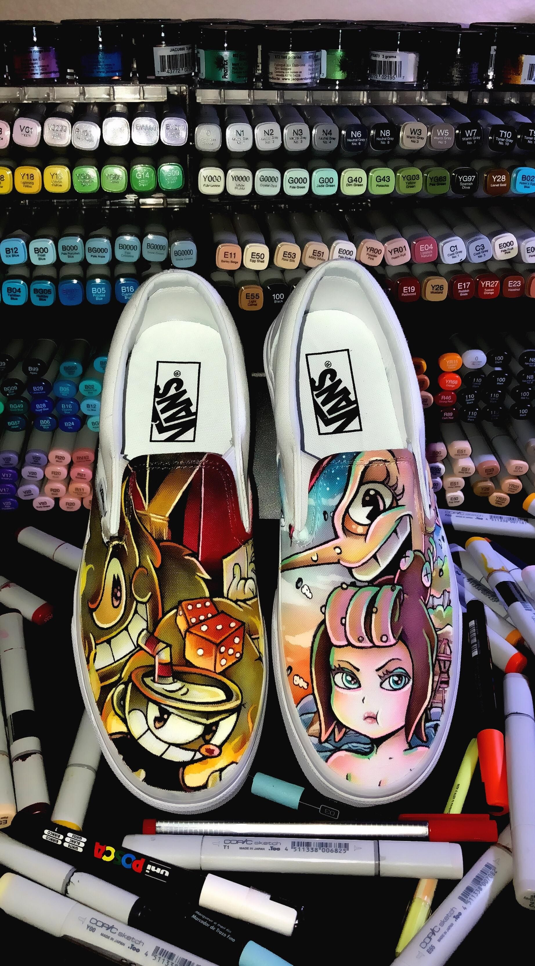 Pin By Ailanie A On Shoes Vans Classic Slip On Sneaker Painted Shoes Hand Painted Shoes