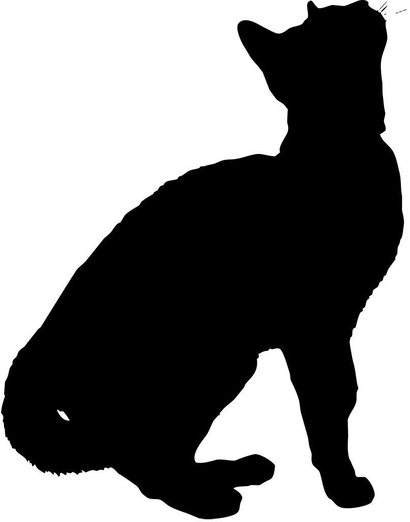 フリーイラスト素材 クリップアート 猫 ネコ 哺乳類 動物 生き物