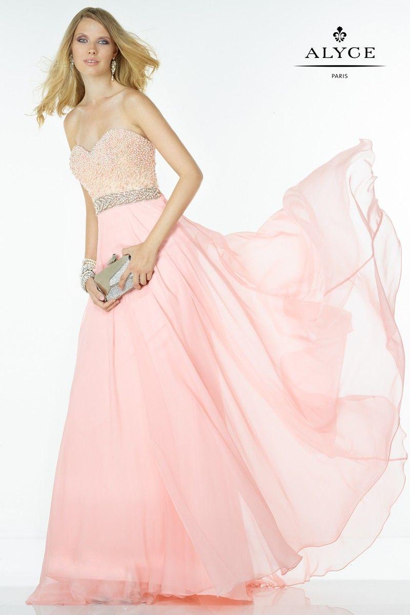 Increíble Alyce Vestido De Fiesta Elaboración - Colección de ...