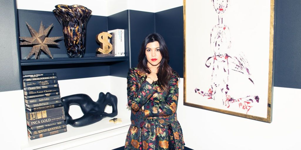 Peek Inside Kourtney Kardashian's Gorgeous Home - Cosmopolitan.com