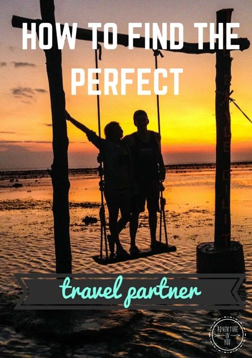 find a partner to travel