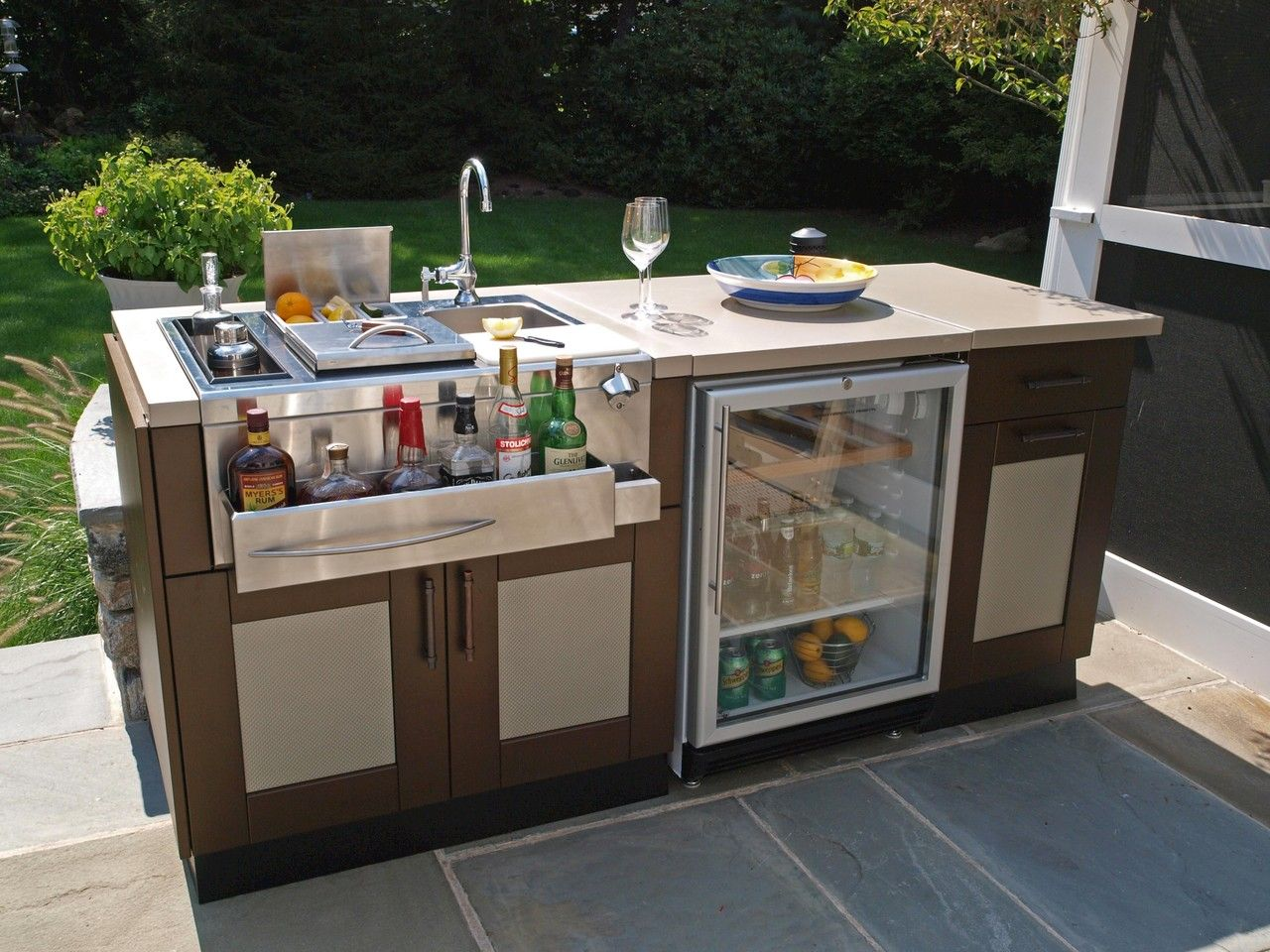 Brown Jordan Outdoor Kitchen Collection Nice Design