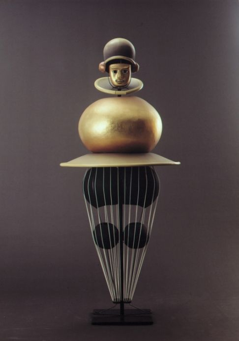 The Triadic Ballet by Oskar Schlemmer with Bauhaus Inspiration.