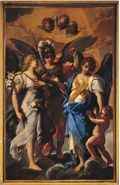 Los tres Arcángeles Miguel, Rafael y Gabriel con Tobias | Los tres  arcangeles, Arcangel miguel, San gabriel arcángel