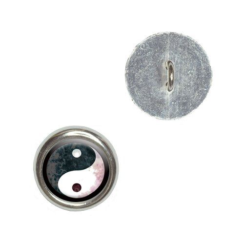 Graphics and More Yin Yang Cloud Texture Metal Craft Sewing Novelty