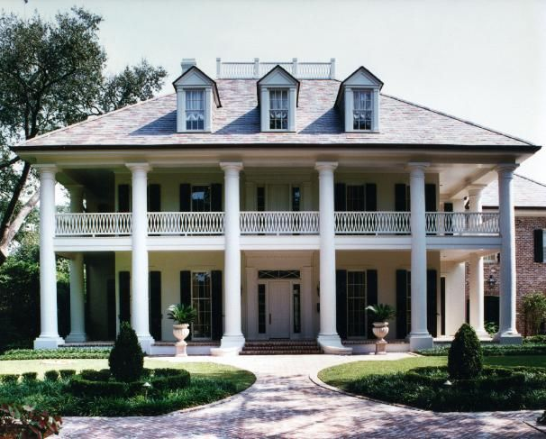 Domin bock architects portfolio private residence in old for Metairie architects