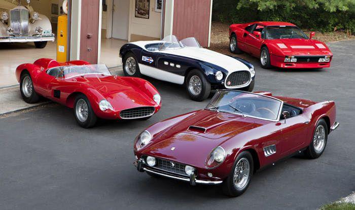 Ferrari, Ferrari, Ferrari & Ferrari!!