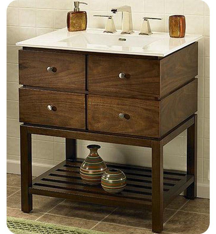 """Fairmont Designs Windwood 30"""" Contemporary Bathroom Vanity Unique Bathroom Vanity 30 Inch 2018"""