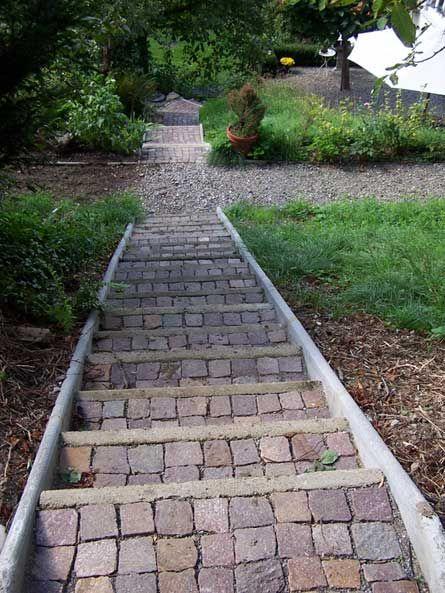 gartentreppe bauen - Google-Suche Garten Pinterest - gartentreppe holz selber bauen anleitung