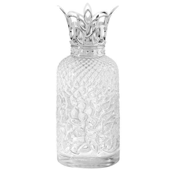 Captivating LAMPE BERGER 4354 Héritage 透明香薰瓶   白色磨沙白色系列   Lampe Berger