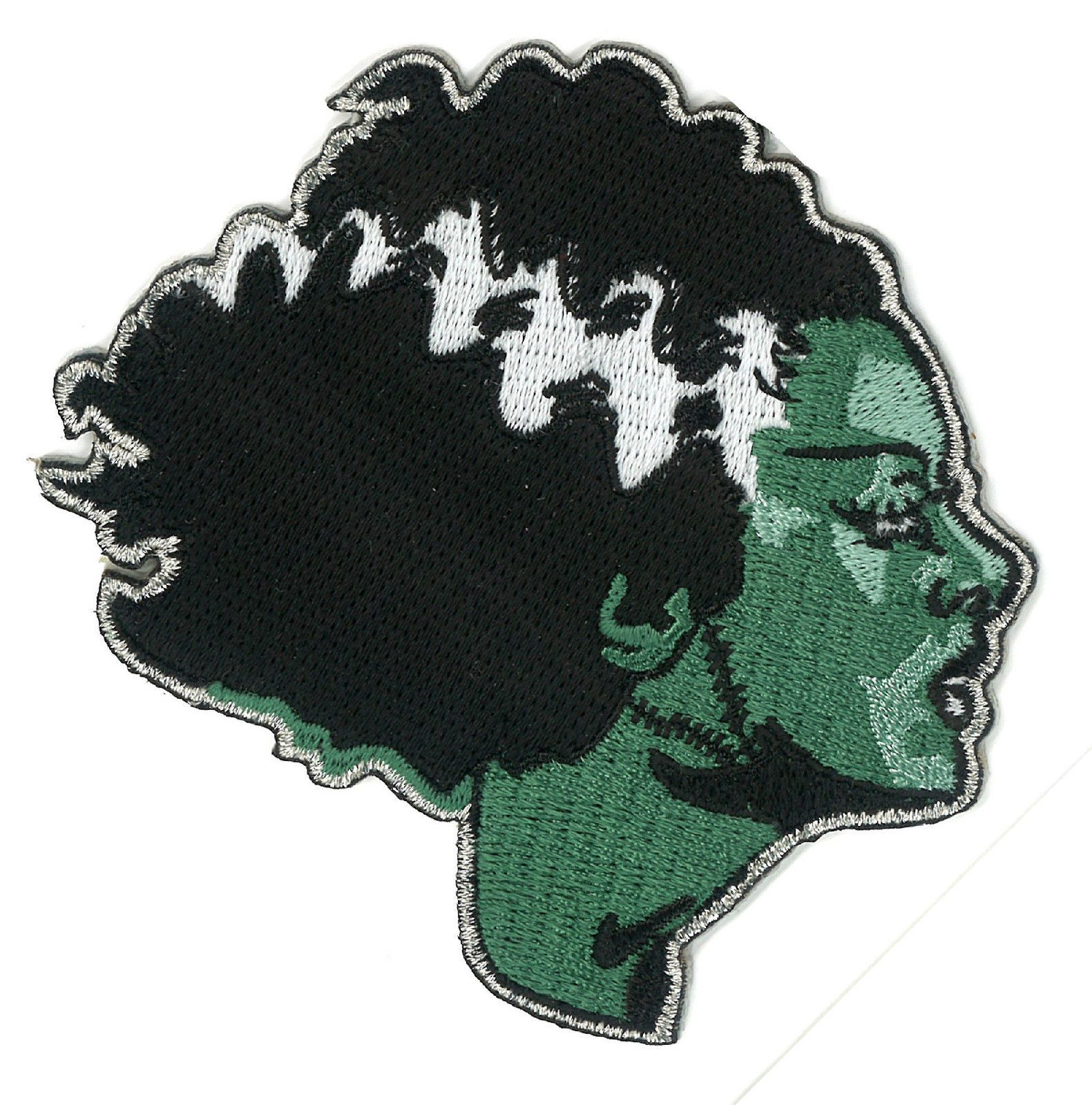Living Dead Girl BRIDE of FRANKENSTEIN Embroidered Iron-on Patch