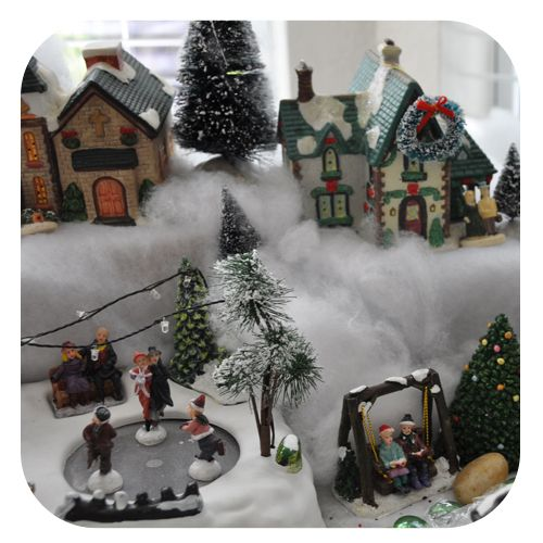 Christmas Village Decorations Ideas: DIY Christmas Village Great Tips To Set Up A Village