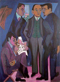 Die Brücke Expressionisten. 1905 - 1913 https://www.youtube.com/watch?v=hb1P95pixcg=PLC082EBF94A561278 #actionmaler http://expressionist.jimdo.com