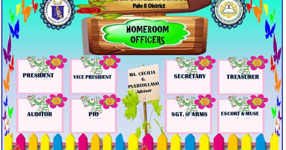 Classroom homeroom officers and organizational chart also rh pinterest