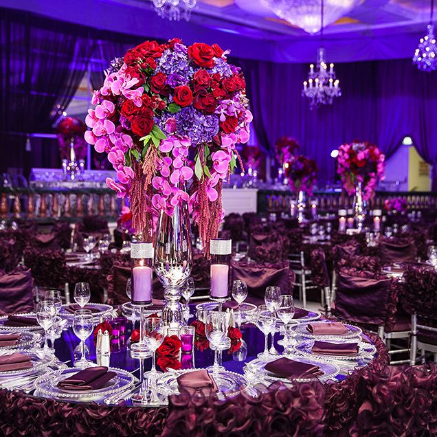 Red and purple wedding decorations choice image wedding decoration red and purple wedding reception choice image wedding decoration ideas junglespirit Image collections