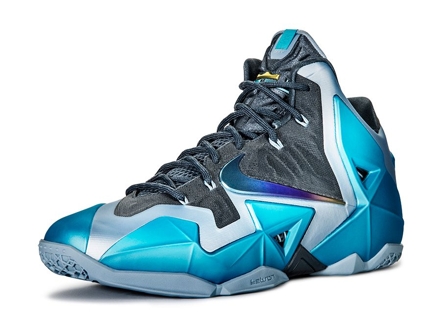 Nike Basketball has just let go the official images for the Nike LeBron 11  \u201cGamma Blue\u201d, as well as a little bit of background on the cold blue shoes.