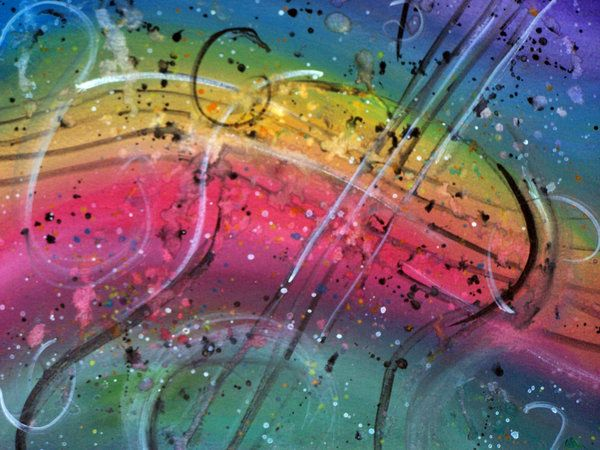 Rainbow Guitar by ~Rastein on deviantART
