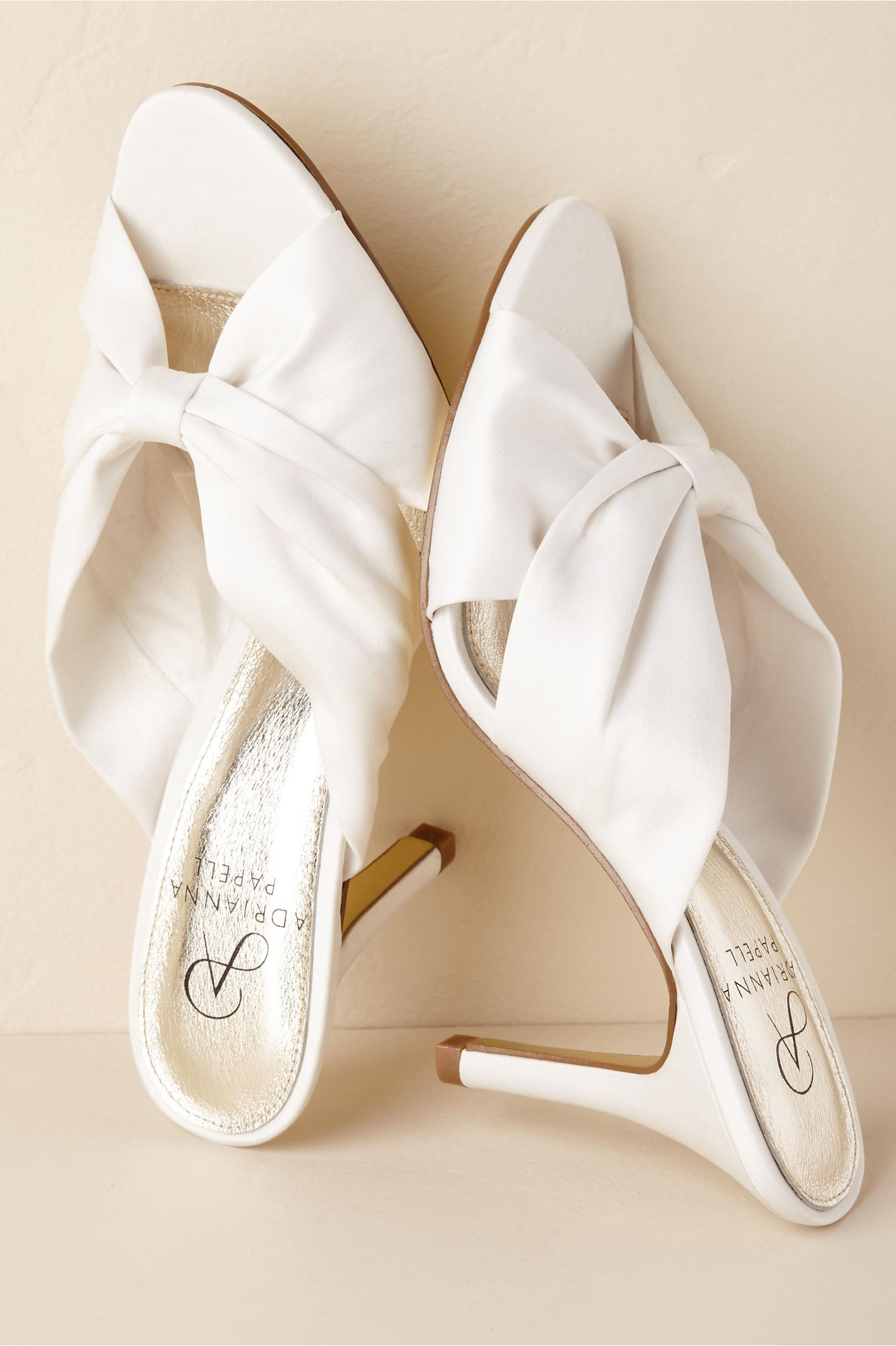 Bhldn S Adrianna Papell Florette Heel In Ivory Wedding Boots