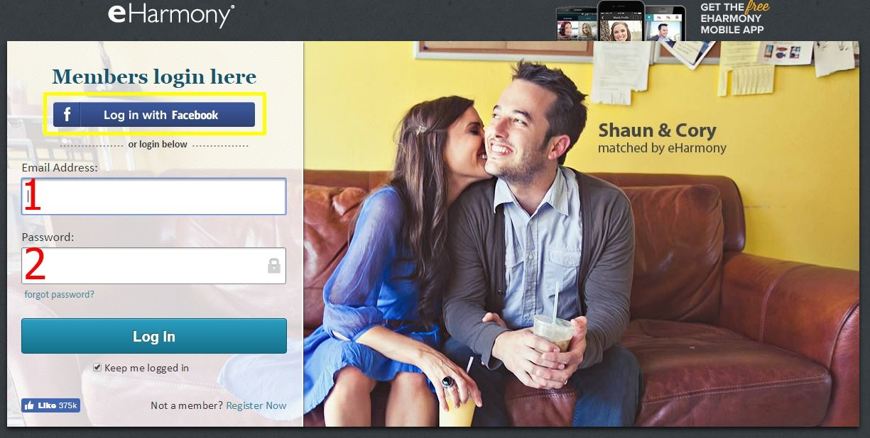 Online dating match eharmony
