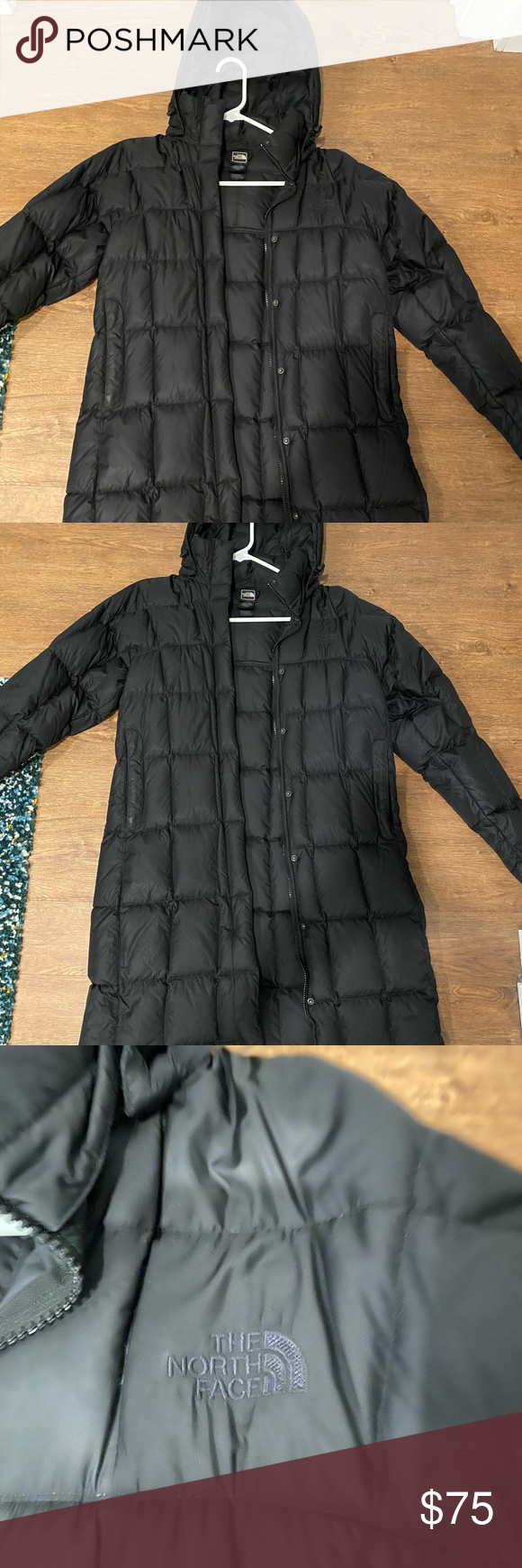 North Face Women S Long Winter Jacket Black Great Condition Gently Used Too Big For Me It S Long Winter Jacket North Face Women Womens Long Winter Jackets [ 1740 x 580 Pixel ]