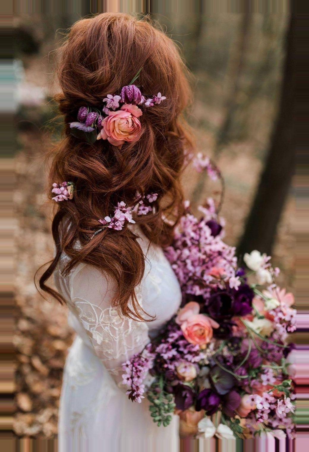 , #blumen #brautlook #haar #Julia Stegner hair Blumen im Haar – Brautlook Valentinstag-Elopement in den Dörenther Klippen Fotografie: Julia Schick Fo…, My Diana Morales Blog, My Diana Morales Blog