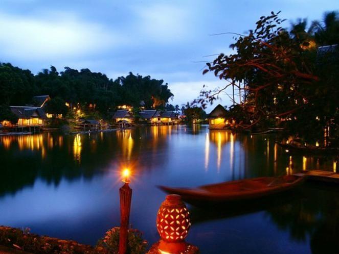 Tempat Wisata Bulan Madu Kampung Sampireun Garut
