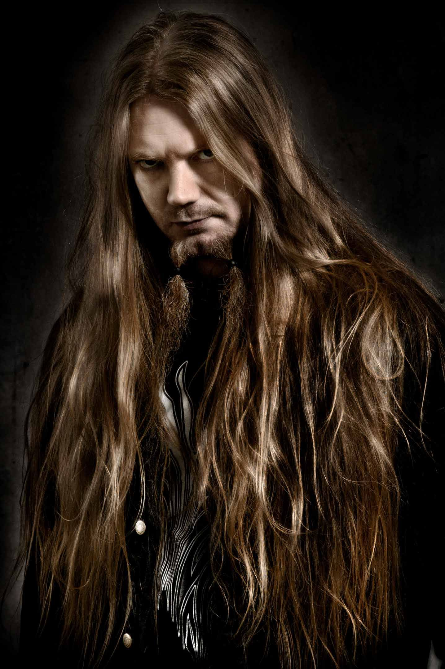 Marco Hietala Nightwish Lange Haare Manner Manner Frisuren Und