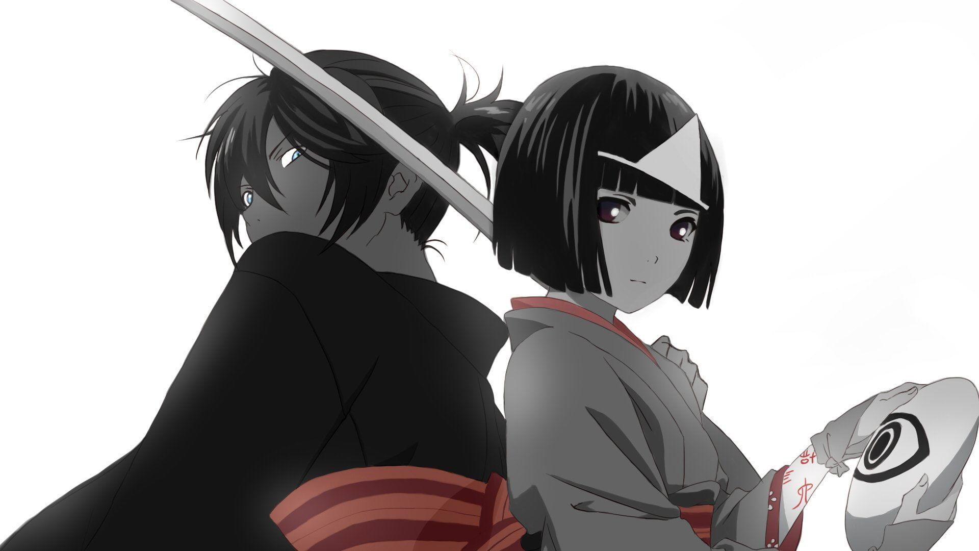 Anime Noragami Nora (Noragami) Yato (Noragami) 1080P