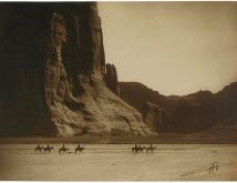 canyon de chelly, edward curtis, 1904