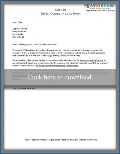 Fundraiser Template Free Amusing Free Sample Letters To Make Asking For Donations Easy  Fundraising .