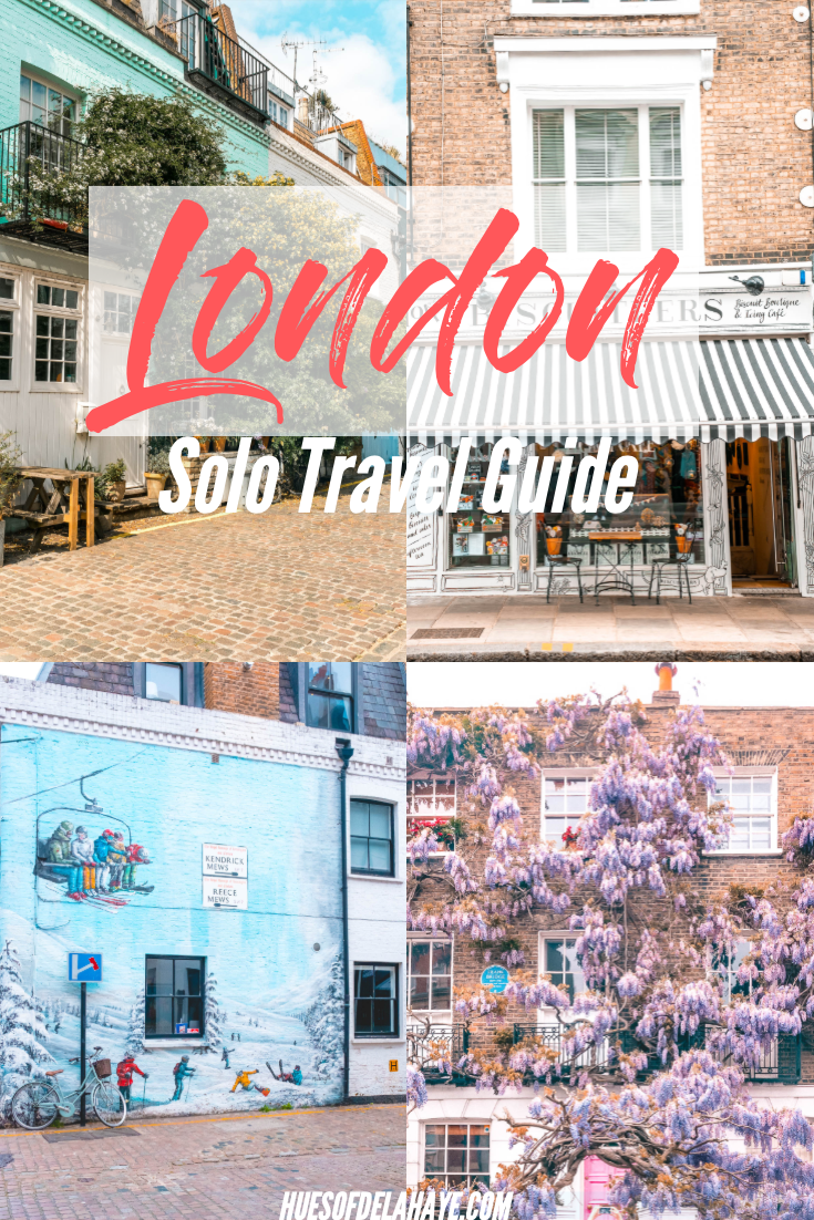 Things to do alone in London #travelengland