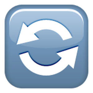 Anticlockwise Downwards And Upwards Open Circle Arrows Circle Arrow Sticker Patches Arrow
