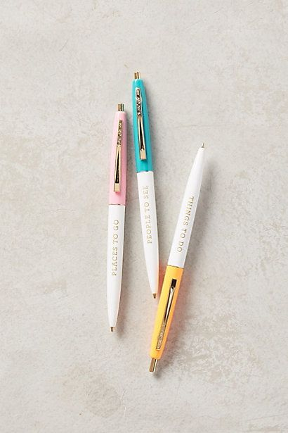 On The Move Pens #anthropologie