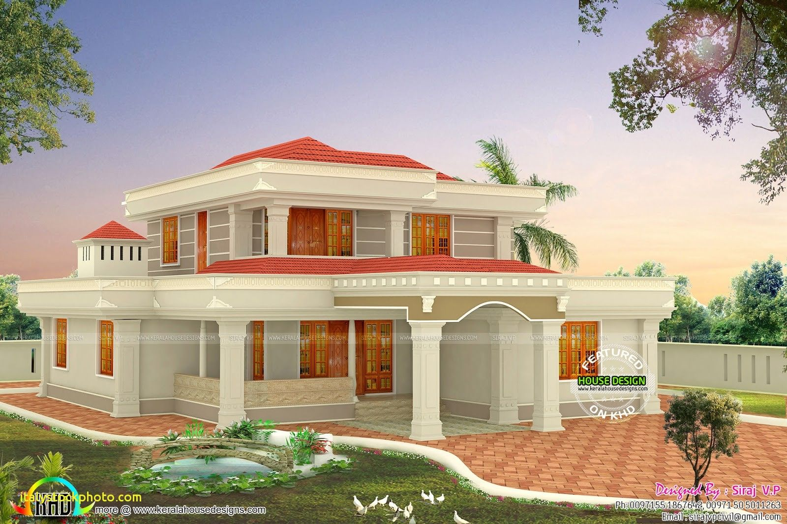 Best Small House Designs In India House For Rent Near Me Housedesign Housedesigns Smallho Kerala House Design Cool House Designs Modern House Floor Plans