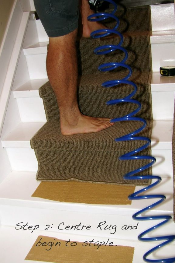 Best Tutorial On How To Install Stair Runner Without Using 640 x 480