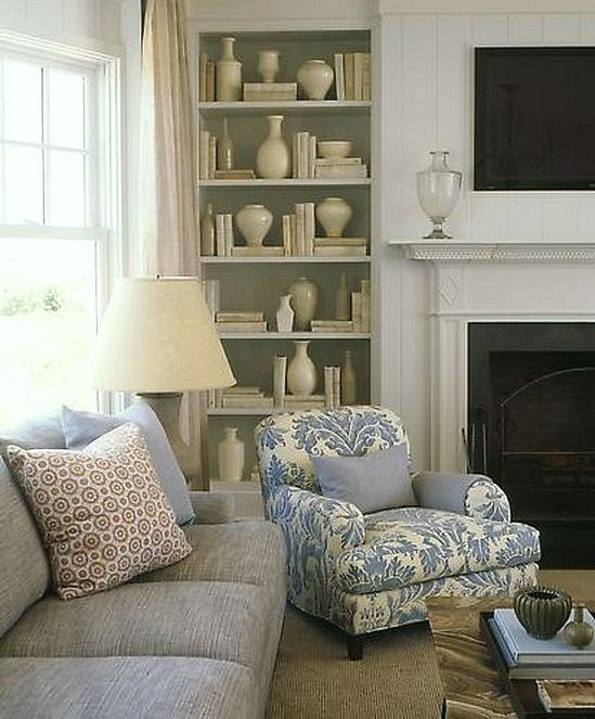 favorite things - white (and blue and gold) - laurel home