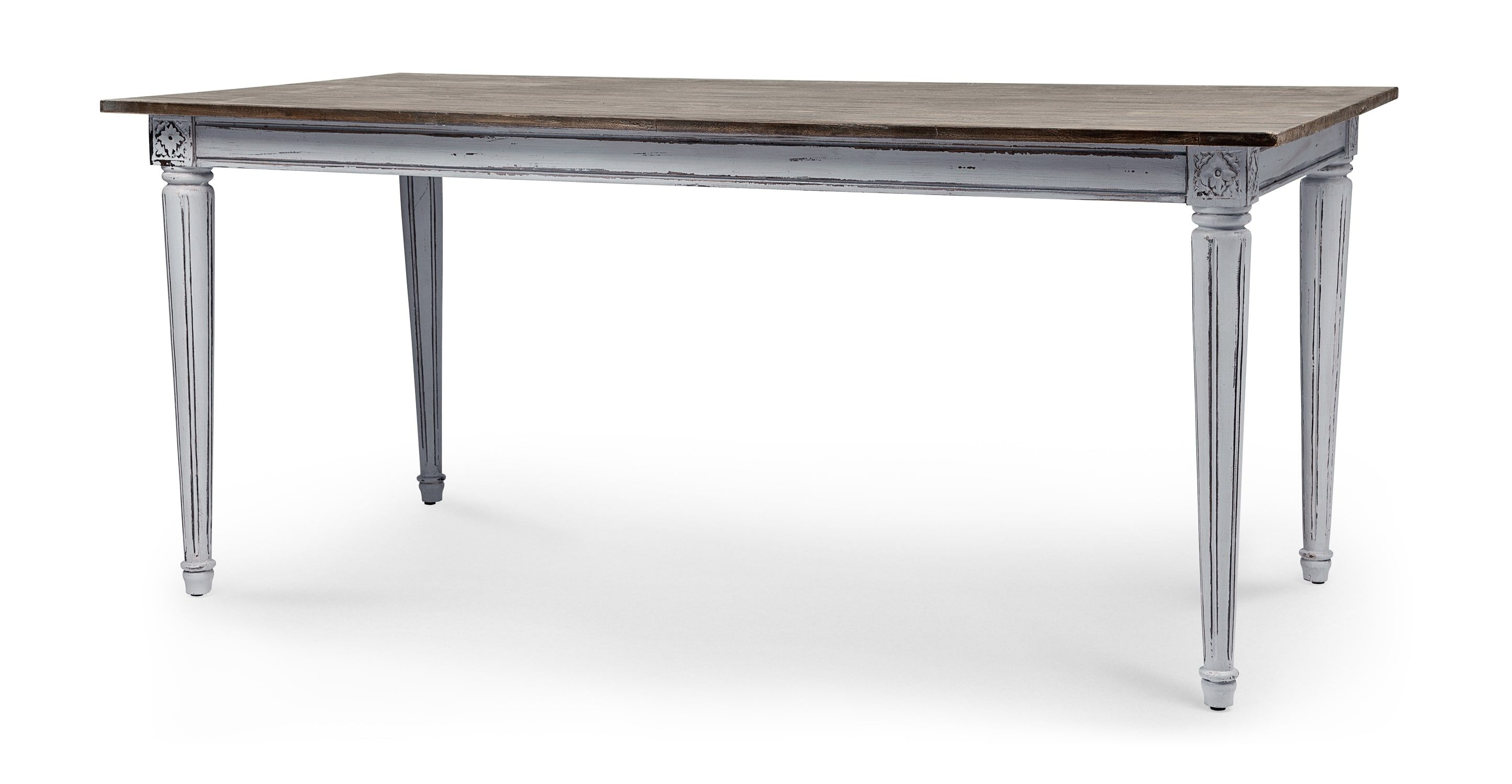 Küche Celina Grau Bourbon Vintage Dining Table Distressed Grey Dining Room Muebles