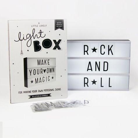 Leuchtkasten light box deko leuchten licht box und box - Leuchtkasten deko ...