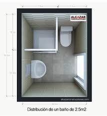 planos de cuartos de baño pequeños - Buscar con Google | Bathroom ...
