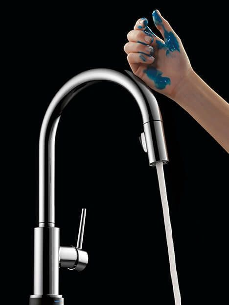 Beau Touch On And Off Kitchen Faucet