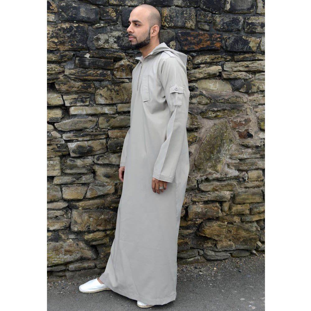 Urban Hooded Jubba Thobe Beige Men 39 S Fashion Pinterest Man Style