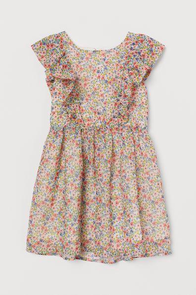chiffong klänning barn