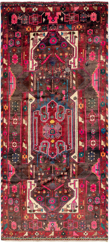 Black 4 4 X 10 Hamedan Persian Runner Rug Persian Rugs Esalerugs Persian Rug Runners Persian Rug Living Room Rugs 4 x 10 rug runner