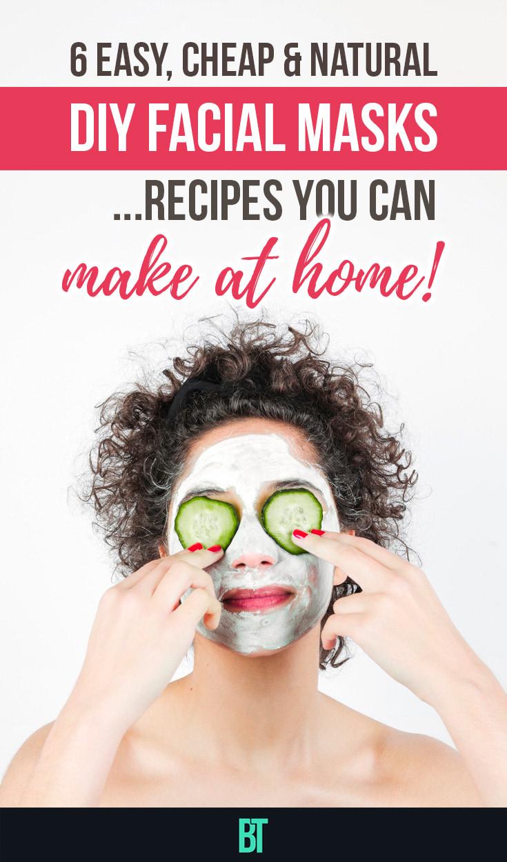 Homemade Face Masks 6 Easy DIY Facial Masks for Glowing