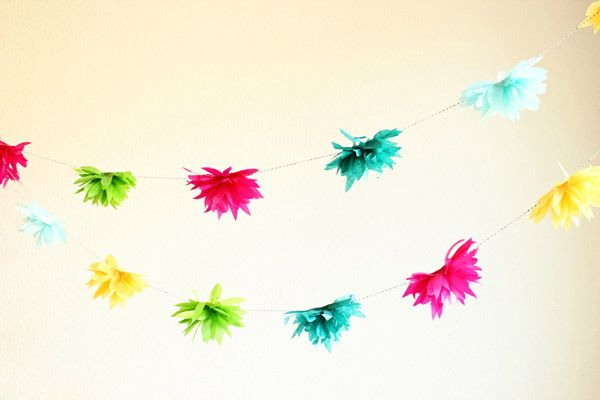 Paper garland tutorials paper flower garlands flower garlands and paper garland tutorials mightylinksfo